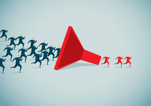 Sales Funnel Bringing New Customers