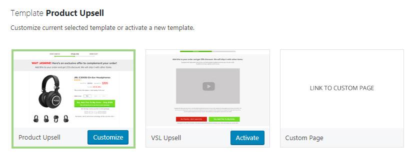 WooCurve templates